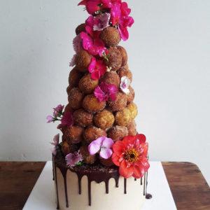 Doughnut Tower Party Cake